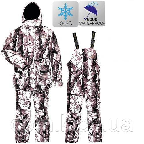 Зимний костюм Norfin Hunting Wild Snow (-30) 713004 XL Белый