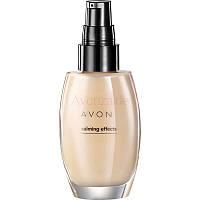 Avon Calming effects(Ivory, nude, almond) (матирующий тональный крем (прозрачный светлый, натуральный,бежевый)