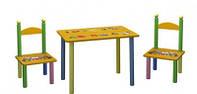 Детский столик и 2 стула