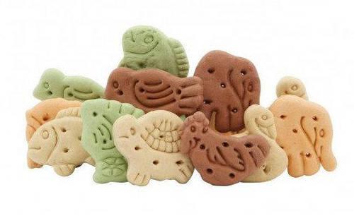 Печенье для собак фигурки животных микс 63 гр.Lolopets