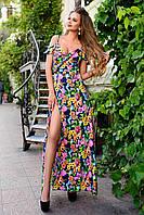 Женское Платье на запах летнее