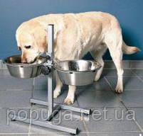 Стойка с двумя мисками для собак (1,8 л), фото 2