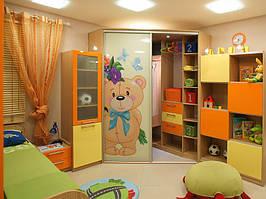 Детский шкаф угловой