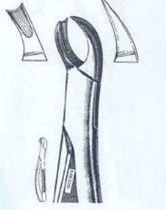Щипцы для удаления верхних левых моляров (Пакистан) ZOOBLE