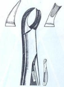 Щипцы для удаления верхних правых моляров (Пакистан) NaviStom