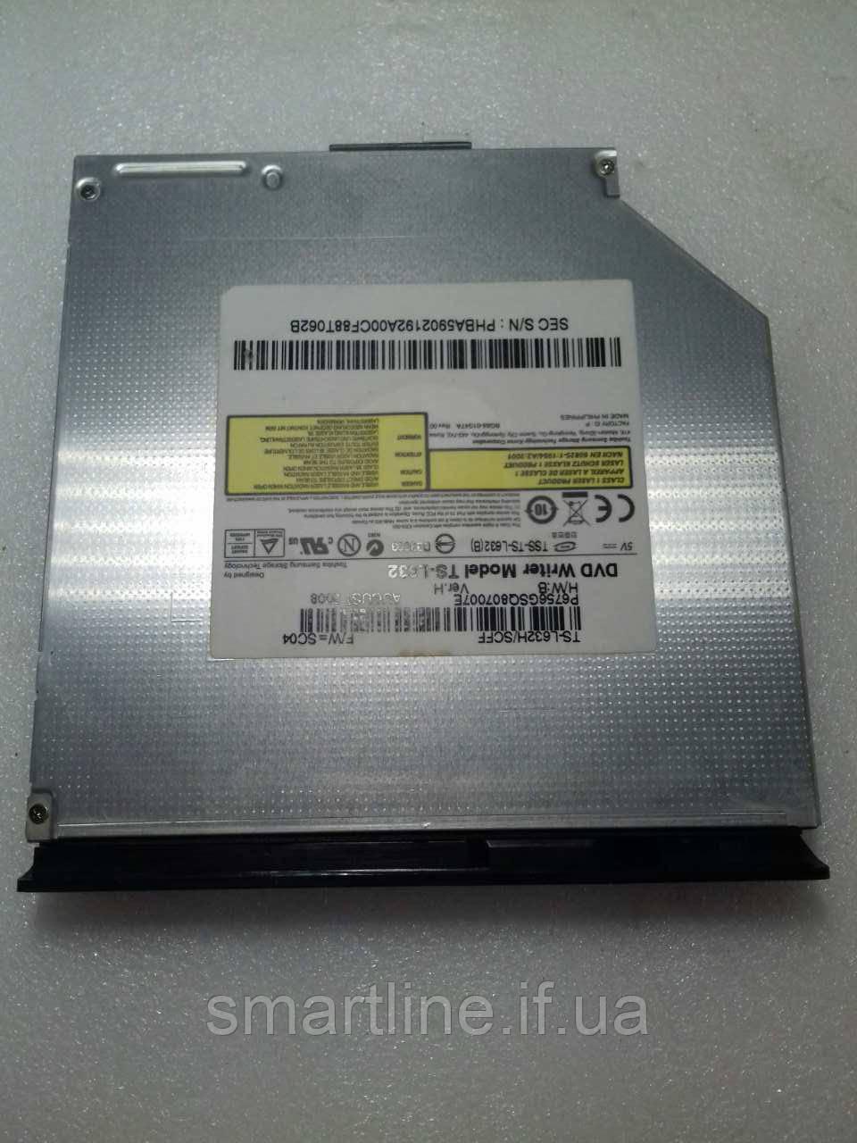 DVD привід ноутбука SAMSUNG R58 plus, TS-L632H