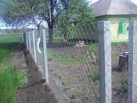 Столб для рабицы и малинников 2,20 м.