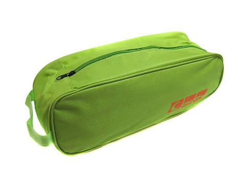 Органайзер сумка чехол для обуви дорожный 35*12*9см R15626 Green, фото 2