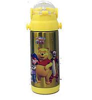 Термос с трубочкой Disney 603(№3 Винни Пух) 350мл
