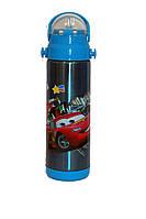 Термос с трубочкой Disney 604 (№5 Тачки) 500мл