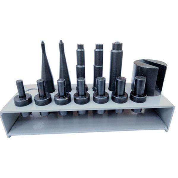 Набор насадок для заклёпочника пневматического для клёпки тормозных накладок (колодок), NNZPTN AIRKRAFT