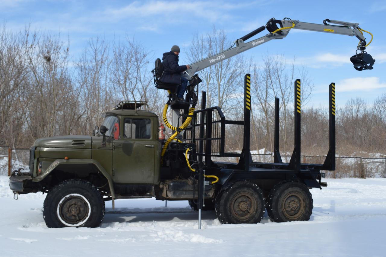 Манипулятор для леса We-6700 (Weimer)