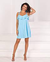 Платье женское летнее с рюшами  вк613, фото 1