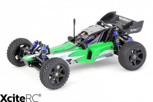 Машинка для трюков на радиоуправлении XciteRC SandStorm one10 2WD RTR Dune buggy УЦЕНКА (270643)