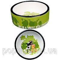 Миска керамическая для собаки Shaun the Sheep, 0,8 л/16см, фото 2
