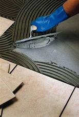 Эластичный, тонкослойный клей с увеличенным рабочим временем Mapei Keraflex Extra S1 СЕРЫЙ, 25 кг., фото 3