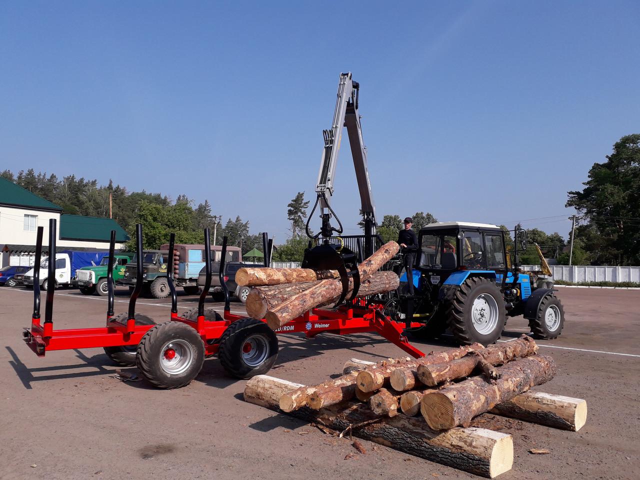Манипулятор для леса We-S7000 (Weimer)