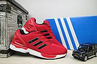 Мужские кроссовки сетка Adidas Torsion Красный 10966