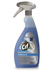 Средство для мытья окон и твердых поверхностей Cif Professional Window & Multisurface