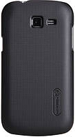 Чехол NILLKIN Samsung S7390 - Super Frosted Shield (Black), фото 1