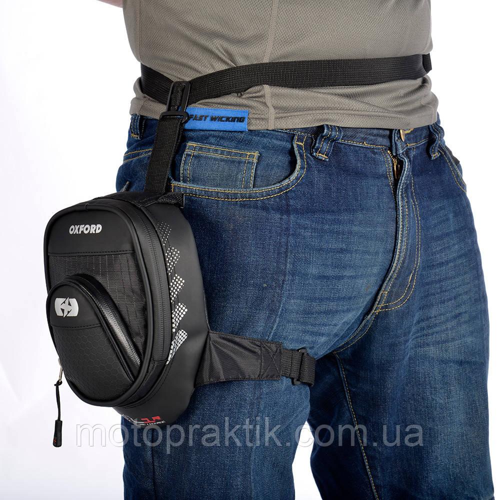 Oxford L1R Leg Bag, Black, Сумка на бедро