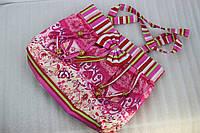 Сумка пляжная 13-20 розовая