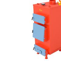 Котел твердотопливный с энергонезависимой автоматикой САН Эко 10- У- М (4 мм)