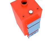 Котел твердотопливный турбированный САН Эко 13- У- Т (4 мм), фото 2