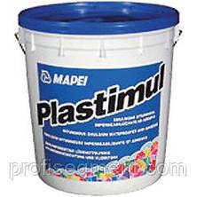 Гидроизоляция универсальная БИТУМНАЯ эмульсия Mapei Plastimul/-Пластимул 20 кг., фото 3