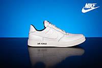 Мужские кроссовки Nike AirForce White 57_p_bel