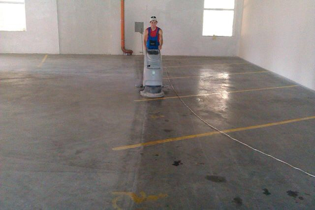 Уборка паркингов 1