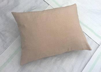 Подушка квадрат імітація льону 35*45 см від виробника Україна