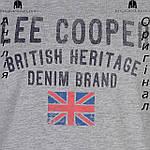 Майка Lee Cooper мужская для тренировок спортивная | Майка Lee Cooper чоловіча для тренувань спортивна сіра, фото 3