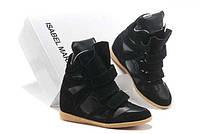 Кроссовки на платформе Isabel marant черные