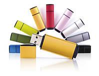 Флешки EDGE, 8 цветов, под нанесение логотипа на 8, 16, 32 Гб лазерная гравировка , фото 1