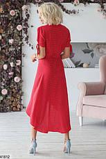 Новинка! шикарное женское летнее  платье в горошек  размеры:42-48, фото 2