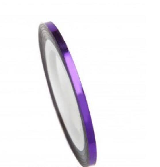 Нитка для нігтів в рулоні STZ фіолетовий 2 мм