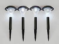 Фонари на солнечных батареях садовые LED-4 (4 шт)