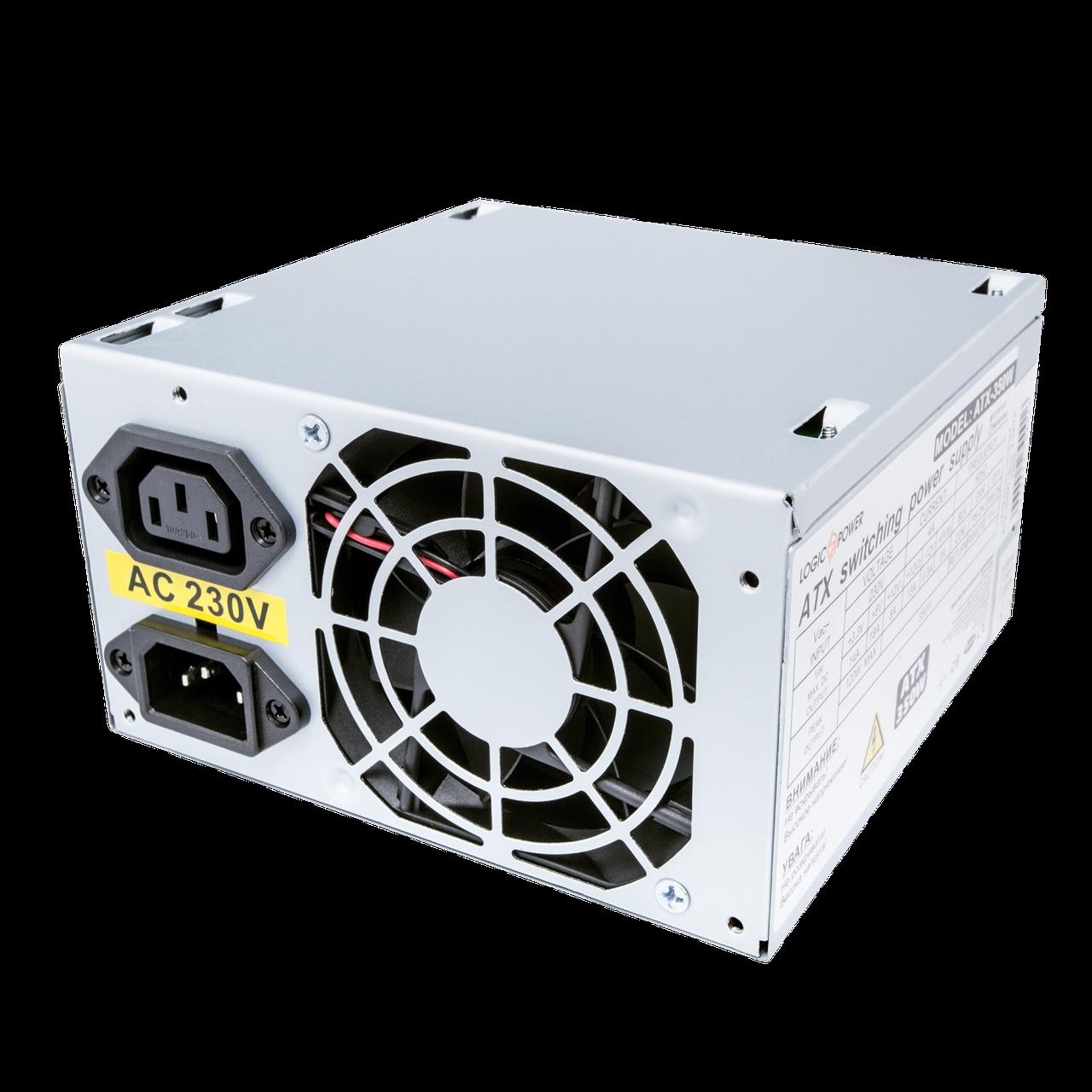 Блок питания ATX-350W, 8см, 2 SATA, OEM