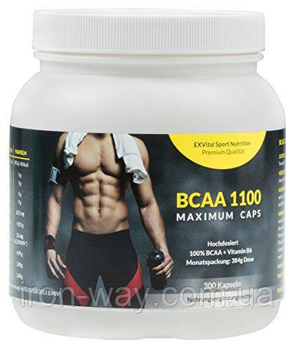 EXVital Sport Nutrition BCAA 1100 Maximum 300 caps Сроки до 01\20