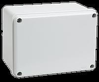 Коробка КМ41261 распаячная для о/п 150х110х85 мм IP44 RAL7035, гладкие стенки IEK