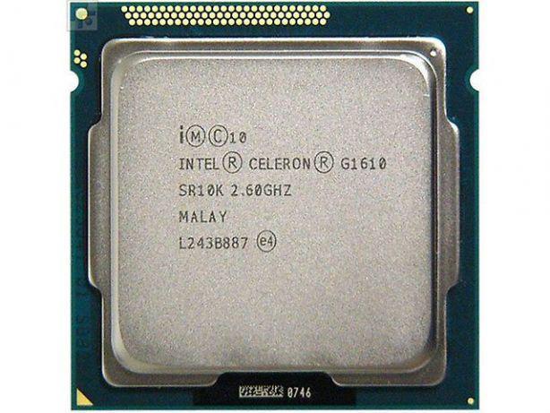 """Процессор Intel Celeron G1610 2.6GHz  Б/У """"Over-Stock"""""""