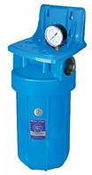 Магистральный корпус - фильтр (колба) Aquafilter 10 BB (с манометром)