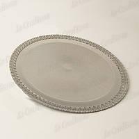 Поднос ажурный серебряный «Laced Tray» (28 см)