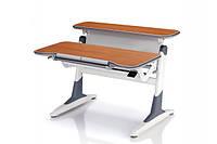 Детская парта растишка стол трансформер Goodwin TH-333 кальвадос-серый (Comf-Pro)