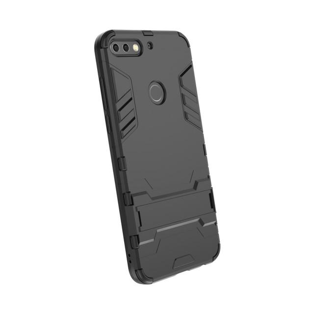 чохол накладка на Huawei Honor 7C PRO протиударний чорний