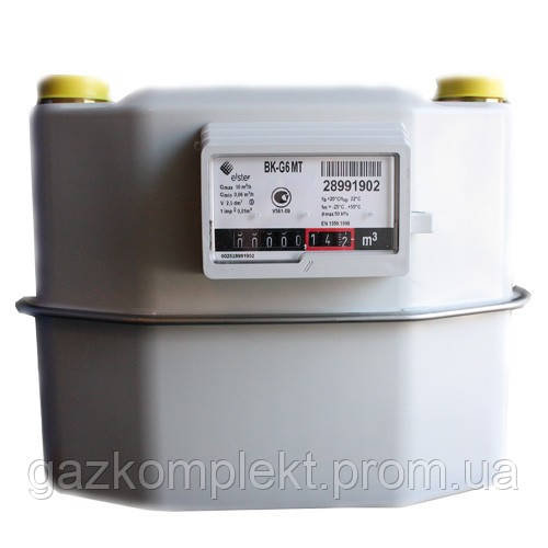 Счетчик газа Elster ВК G6 T