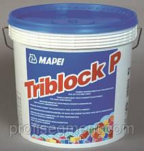 Гідроізоляційна трикомпонентна ґрунтовка для вологих підстав Mapei Triblock 5кг,Харків, фото 2