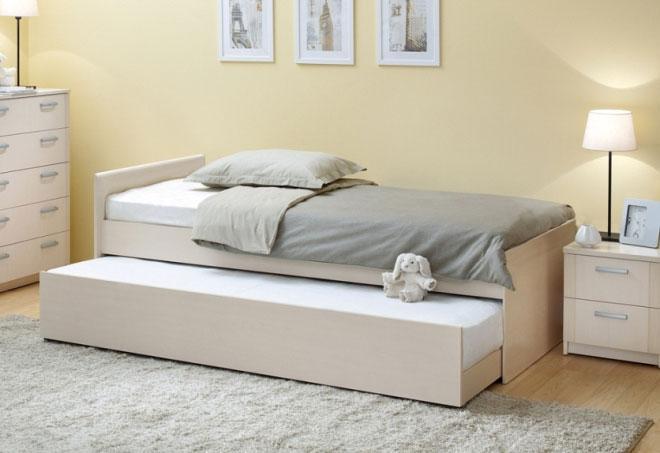 Кровать подростковая с двумя спальными местами