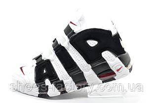 Кроссовки для баскетбола в стиле Nike Air More Uptempo, White\Black
